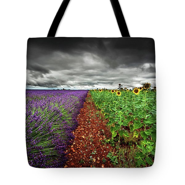 At The Middle Tote Bag