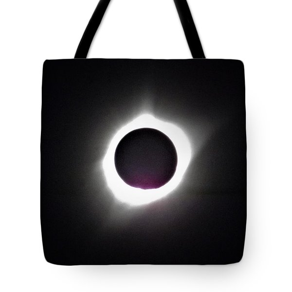 At The Moment Of Totality Tote Bag