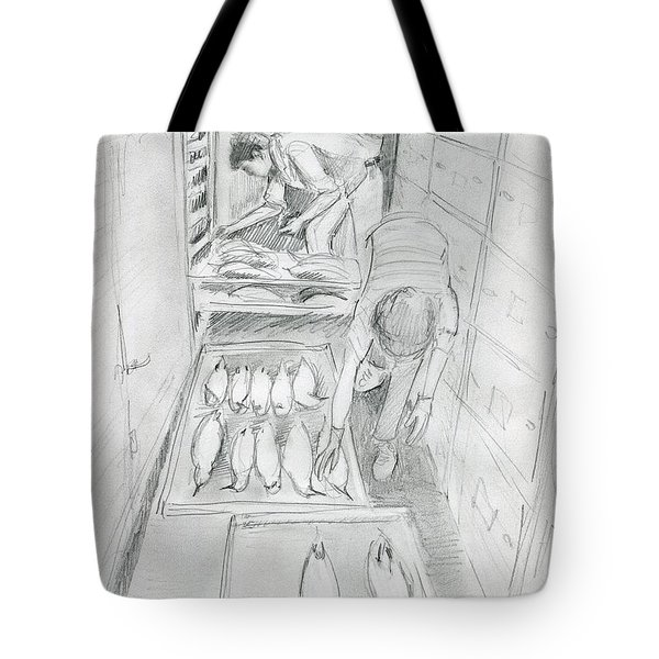 At The Museum I Tote Bag