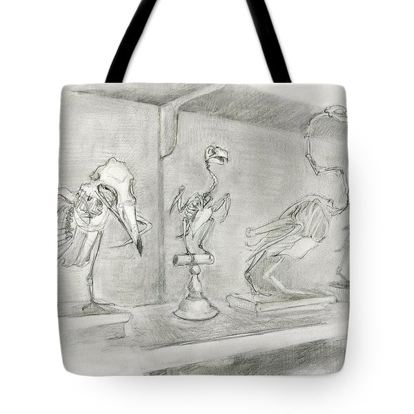 Bird Skeletons Tote Bag