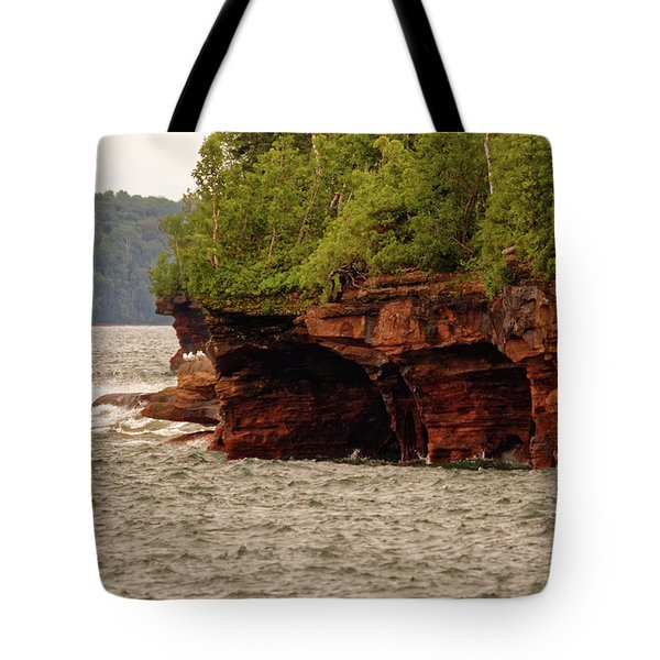 At The Point Tote Bag