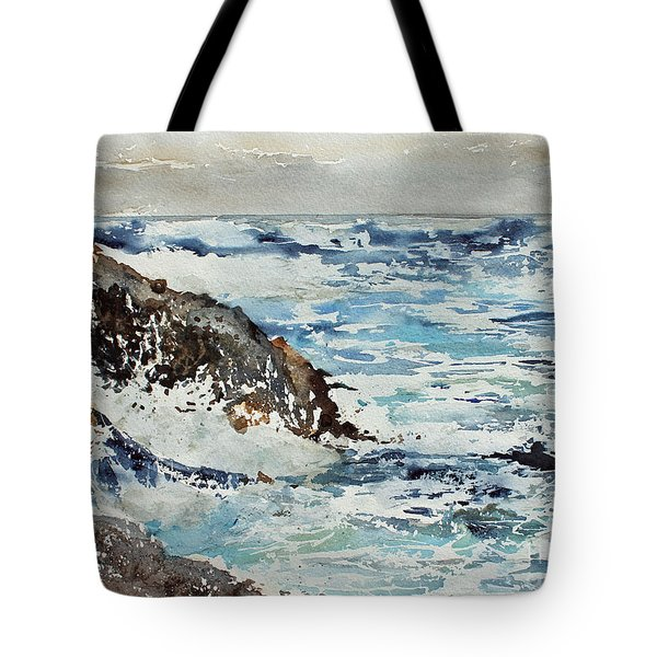At The Rocks Tote Bag by Monte Toon