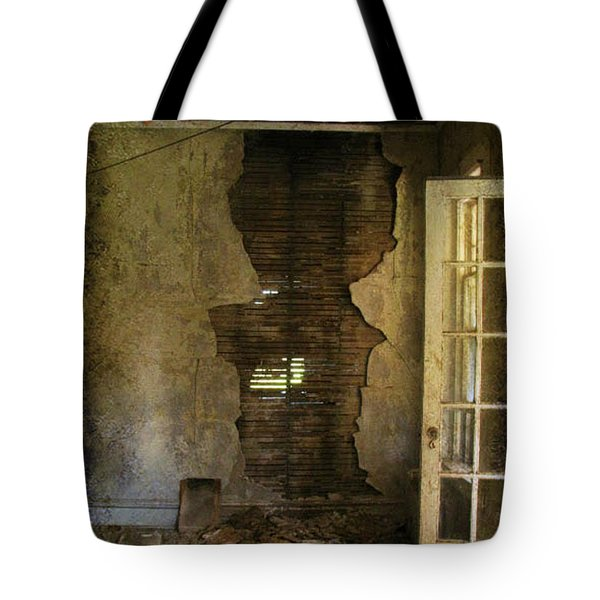 At The Seams Tote Bag
