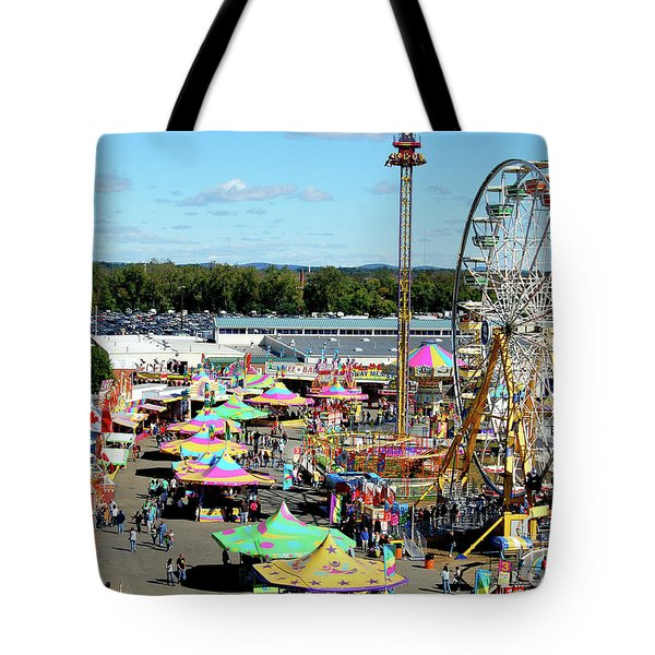 At The Top Of The World 2 Tote Bag