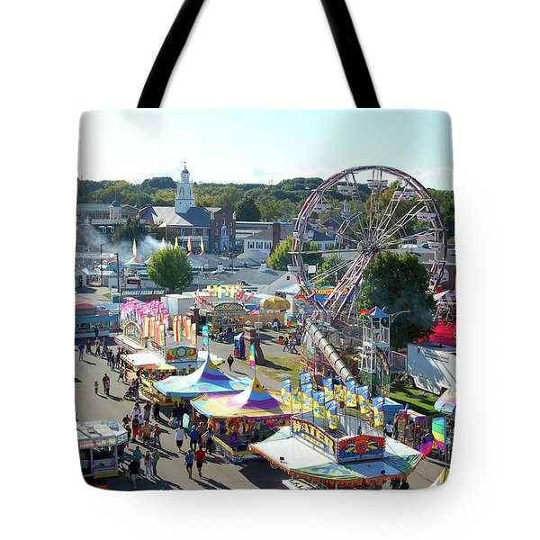At The Top Of The World Tote Bag