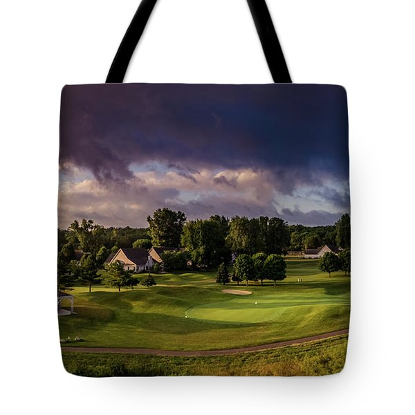 At The Turn Tote Bag