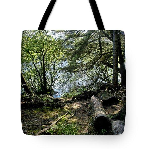 At The Water Edge. Tote Bag
