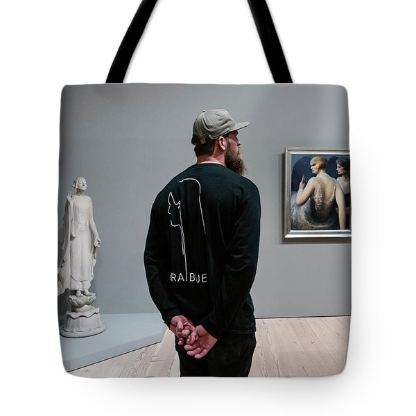 At The Whitney  Tote Bag