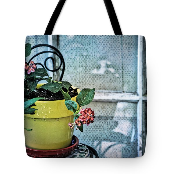 At The Window Tote Bag