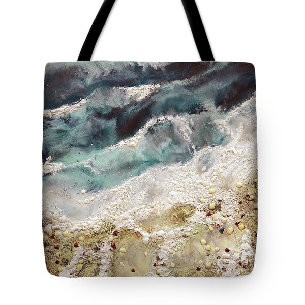 At Water's Edge Iv Tote Bag