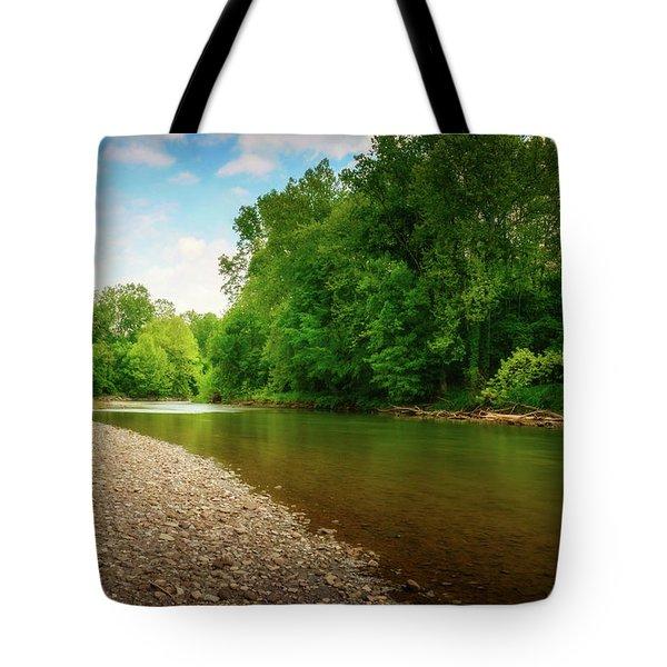 At Waters Edge Tote Bag