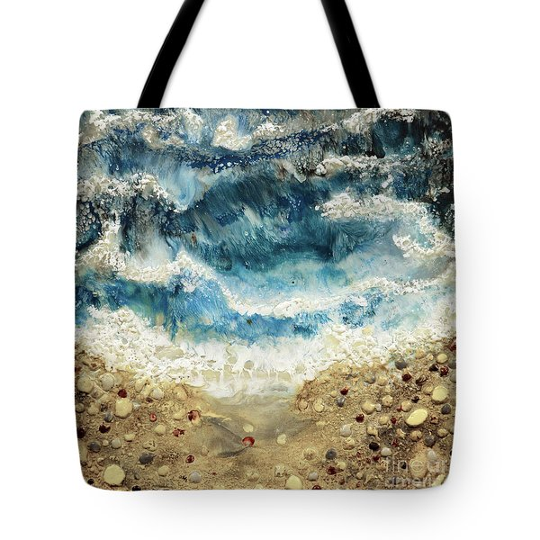 At Water's Edge V Tote Bag