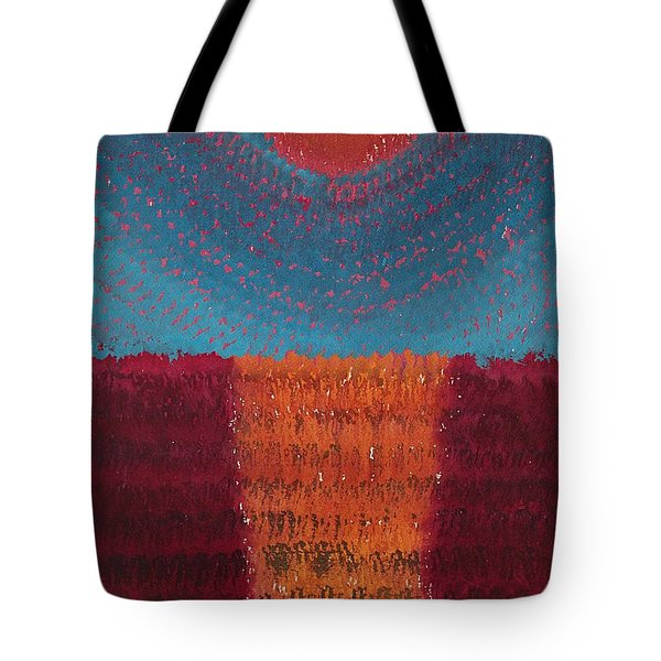 At World's Beginning Original Painting Tote Bag