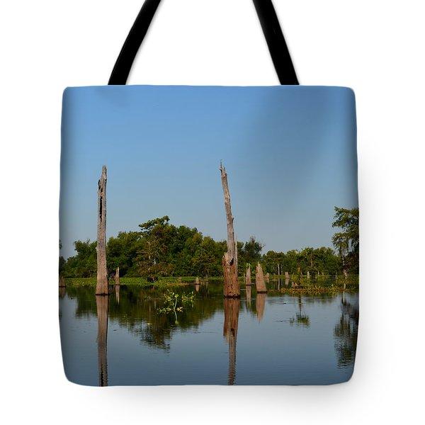 Atchafalaya Basin 18 Tote Bag