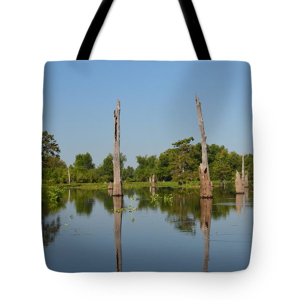 Atchafalaya Basin 19 Tote Bag