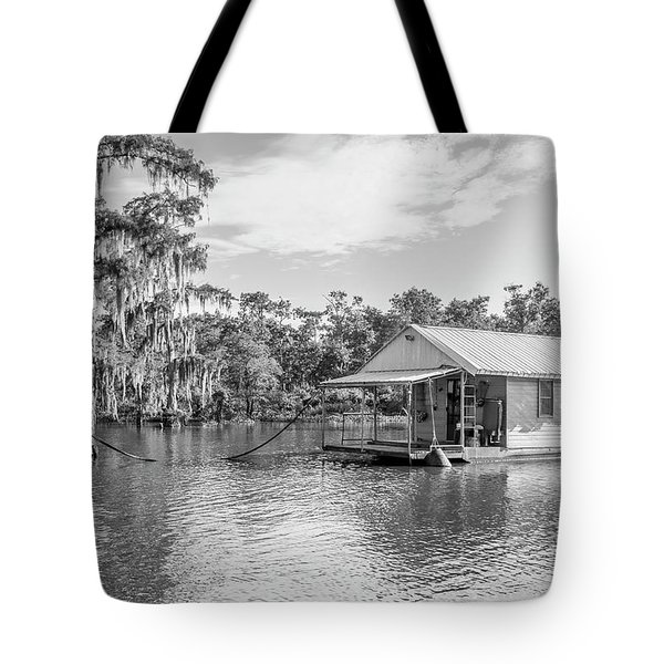 Atchafalaya Basin Fishing Camp Tote Bag