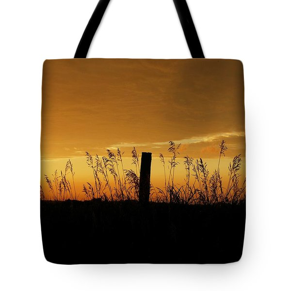 Atchison Sunset Tote Bag by Dustin Soph