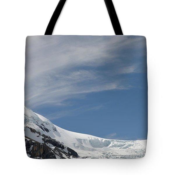 Athabasca Glacier Vista Tote Bag