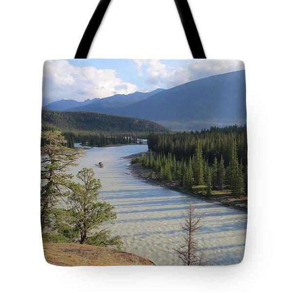 Athabasca River - Jasper Tote Bag
