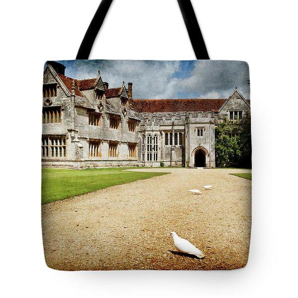 Athelhamptom Manor House Tote Bag