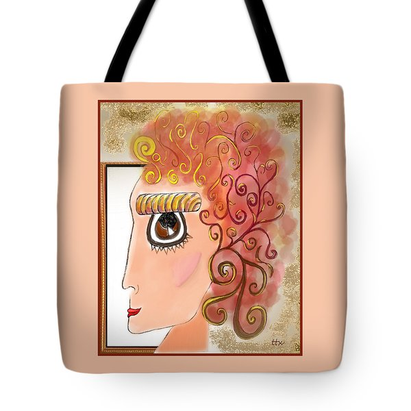 Athena In The Mirror Tote Bag