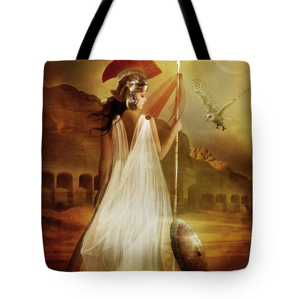 Athena Tote Bag by Mary Hood