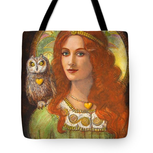 Athena And Her Owl- Wise Ones Tote Bag