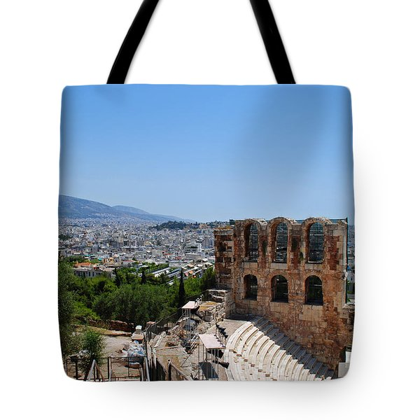 Athens Tote Bag by Robert Moss