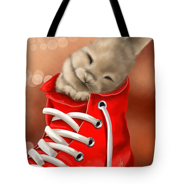 Athletic Rest Tote Bag