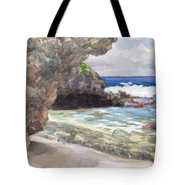 Atiu, Tumai Beach Tote Bag
