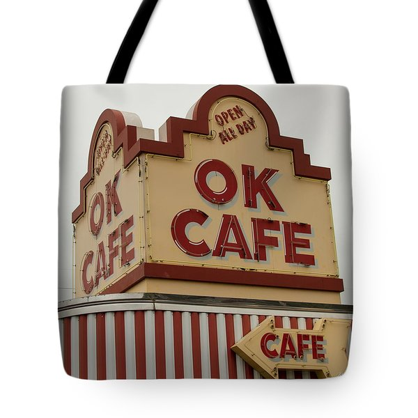 Atlanta Classic Ok Cafe Atlanta Restaurant Art Tote Bag
