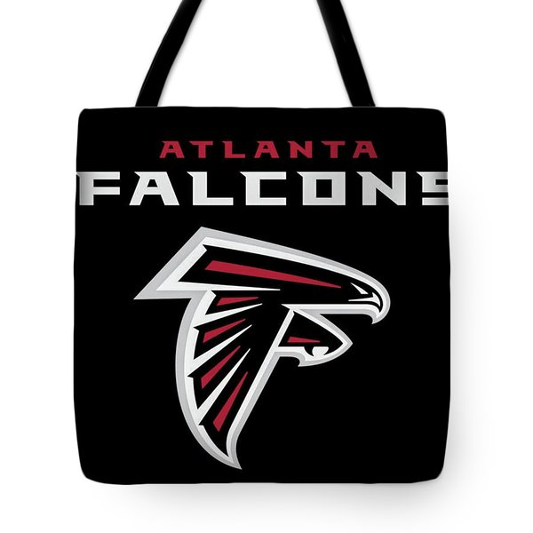 Atlanta Falcons 6 Tote Bag