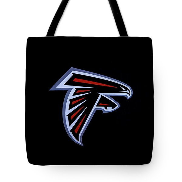 Atlanta Falcons Team Logo Art Tote Bag