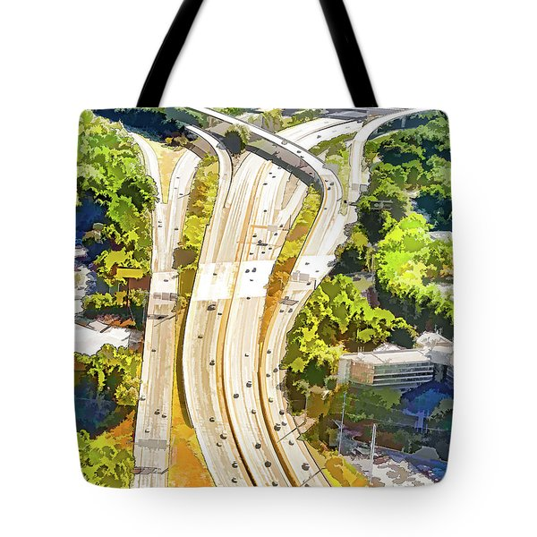 Atlanta Highways Tote Bag