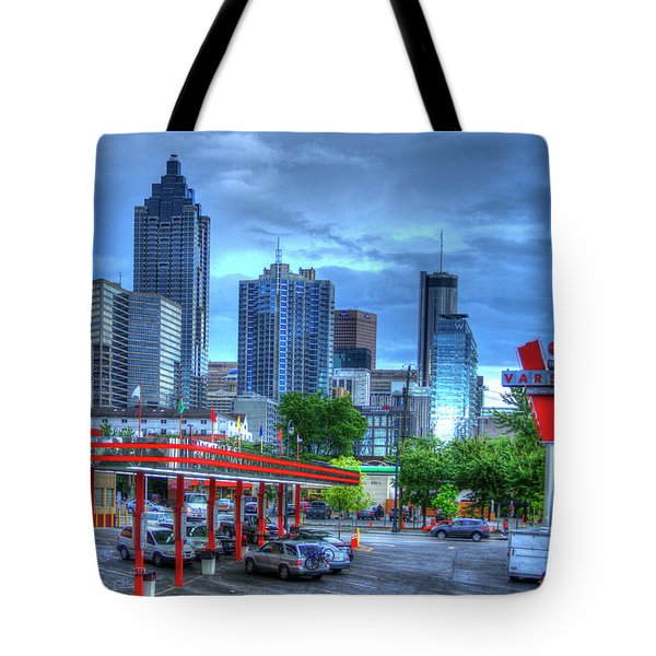 Atlanta Landmark The Varsity Art Tote Bag