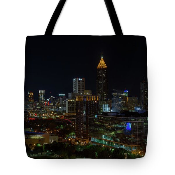 Atlanta Nights Tote Bag