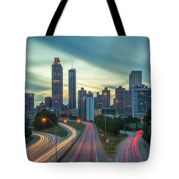 Tote Bag featuring the photograph Atlanta by RC Pics