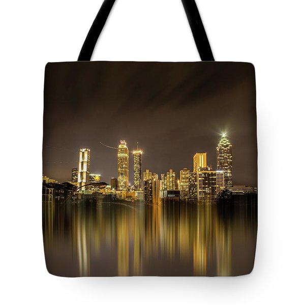 Atlanta Reflection Tote Bag