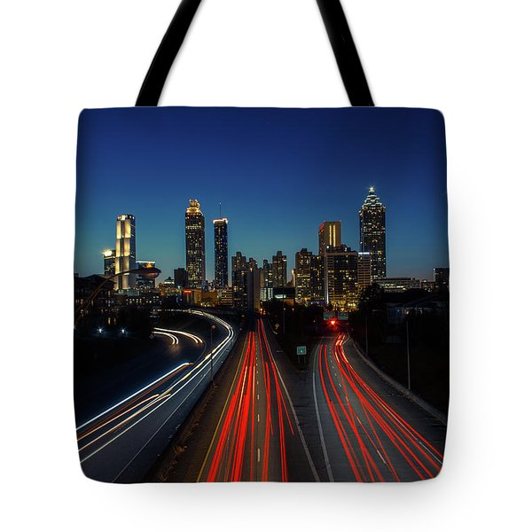Atlanta Skyline 1 Tote Bag