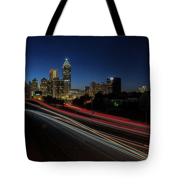 Atlanta Skyline 2 Tote Bag