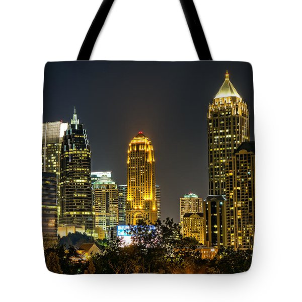 Atlanta Skyscrapers  Tote Bag