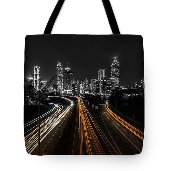 Atlanta Tones Tote Bag