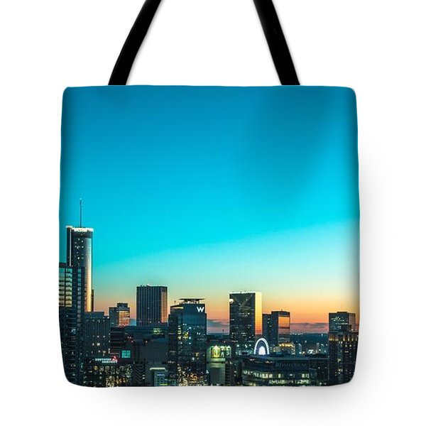 Atlanta Tonight Tote Bag