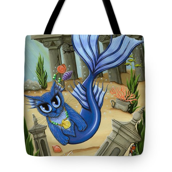 Atlantean Mercat Tote Bag