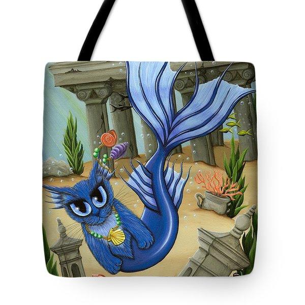 Atlantean Mercat Tote Bag