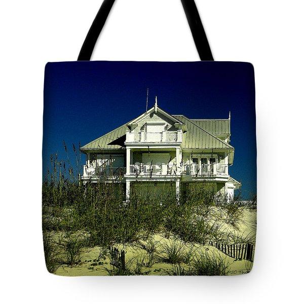 Atlantic Beach House Tote Bag