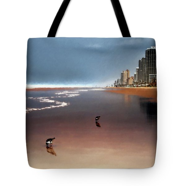 Atlantic Beach Tote Bag by Jim Hill