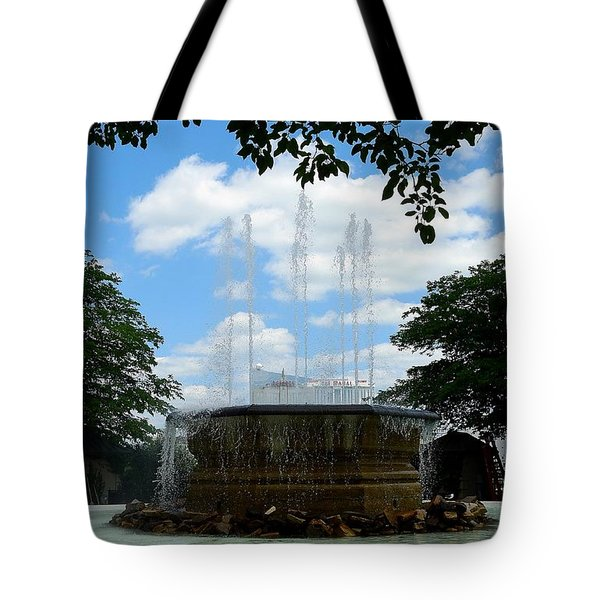 Atlantic City Tote Bag by Allen Beilschmidt