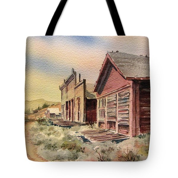 Atlantic City Ghost Town Wyoming Tote Bag by Kevin Heaney