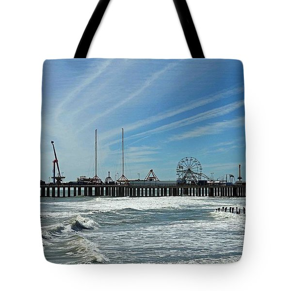 Atlantic City, New Jersey Tote Bag by Allen Beilschmidt